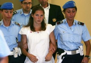 The Big Girl View: Amanda Knox and Shopping at the Mall